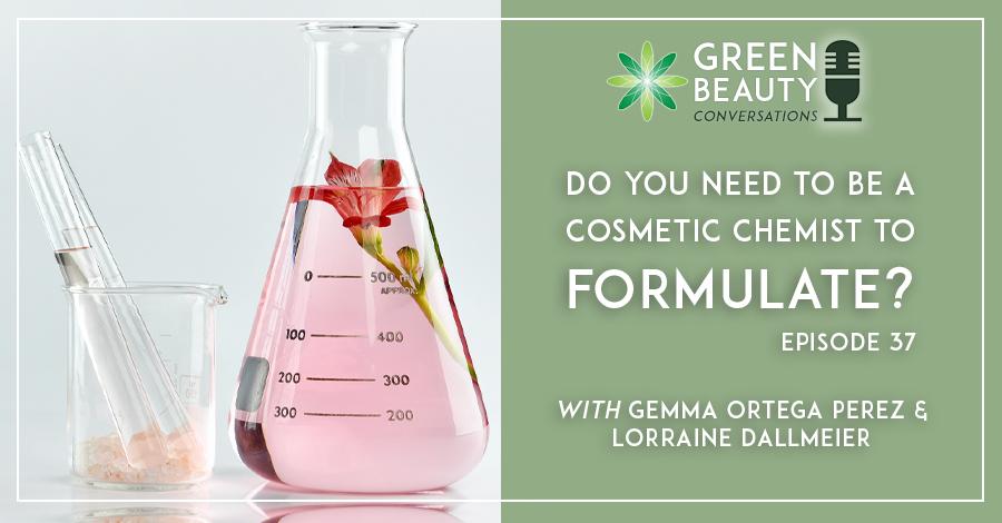 Cosmetic chemist vs skincare formulator