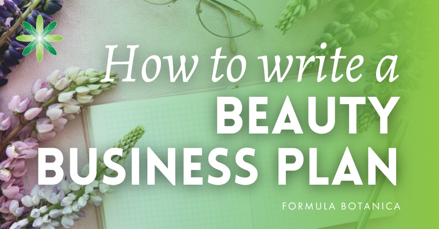 2019-06 Beauty products business plan