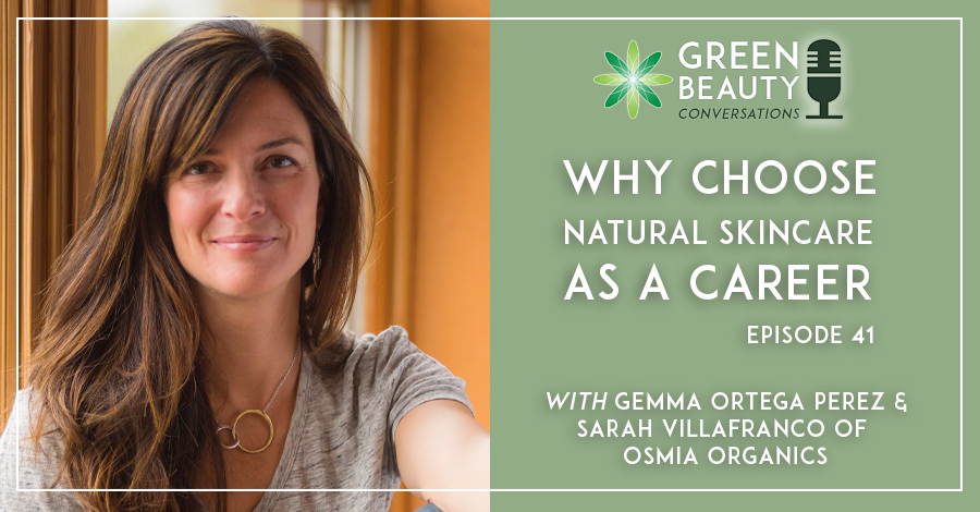 Podcast - why choose natural skincare as a career