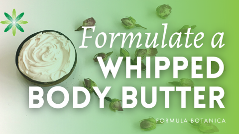 How to Make a Tuberose & Neroli Whipped Body Butter