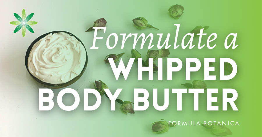 How to make a whipped body butter