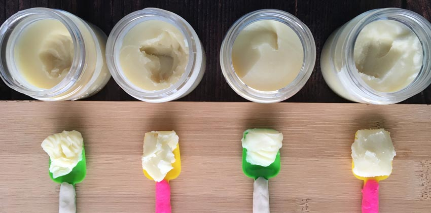 Testing hard natural cosmetic waxes