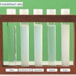 Testing Natural Solubilisers in test tube