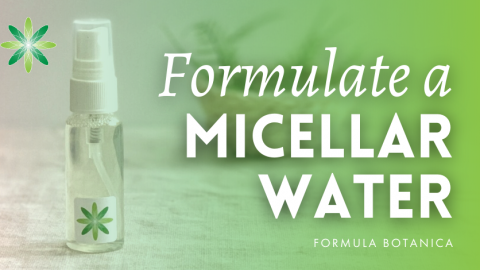 How to Make a Jasmine and Aloe Micellar Water
