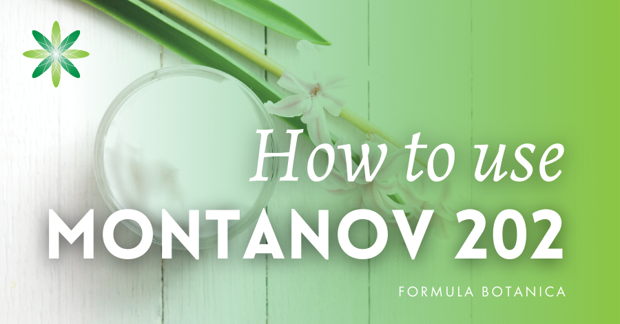 2019-08 How to use Montanov 202