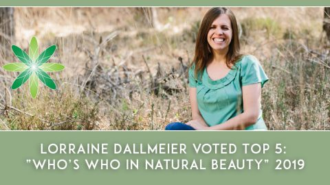 "Lorraine Dallmeier voted Top 5: ""Who's Who in Natural Beauty"" 2019"