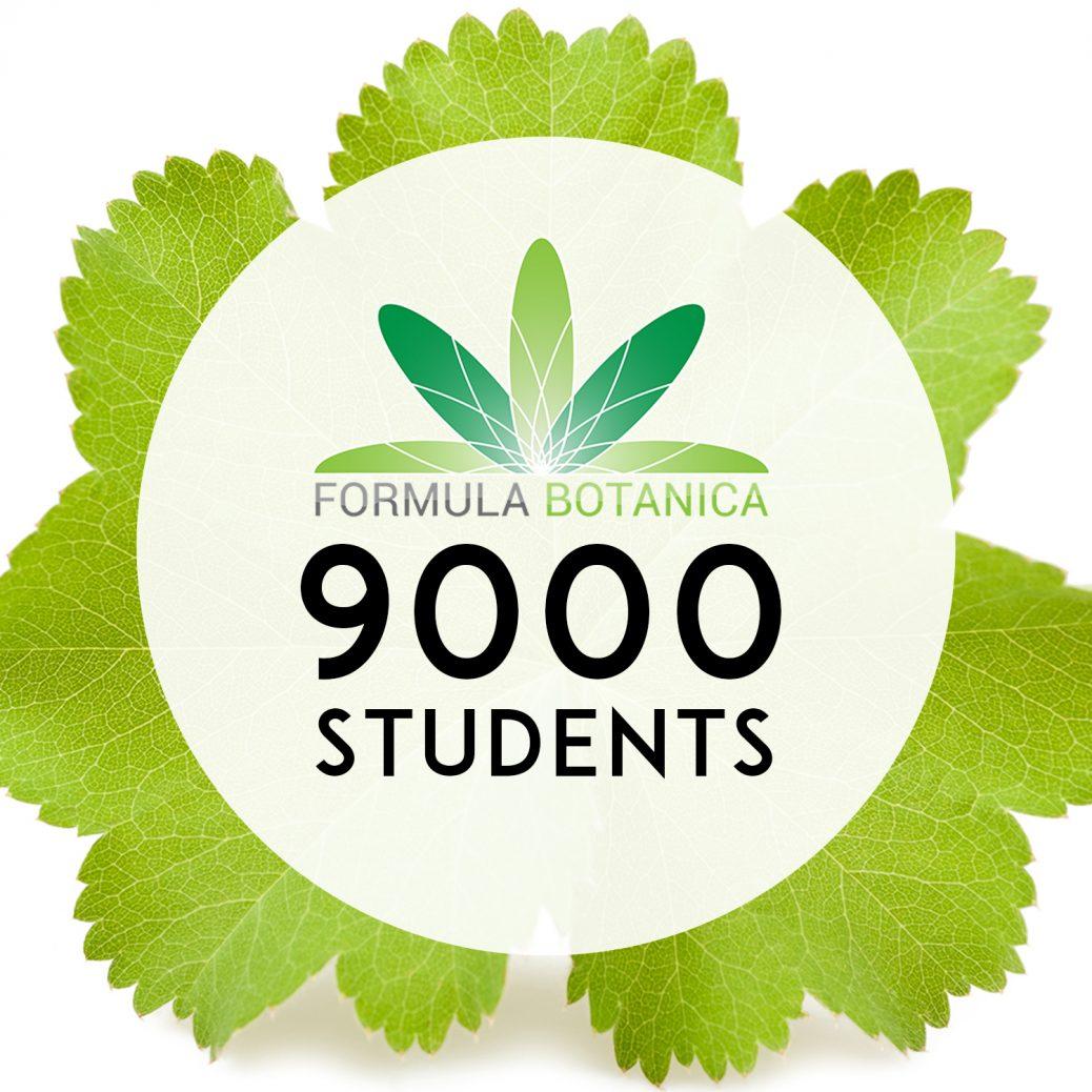 Formula Botanica enrols its 9000th student