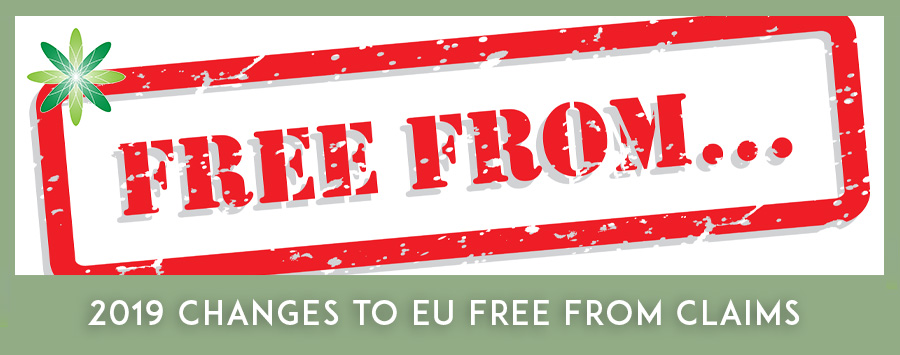 Changes to EU Free From Claims