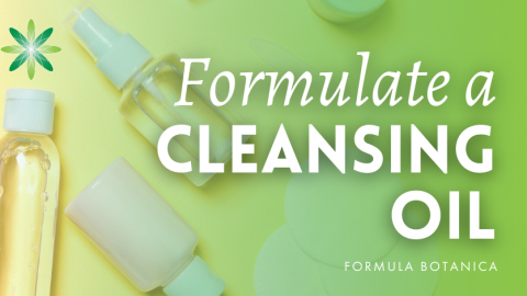 How to make a Camellia Cleansing Oil