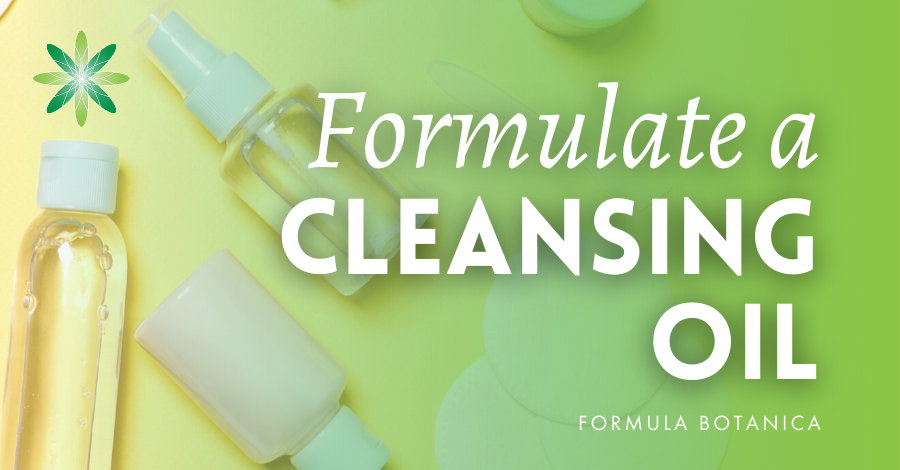 2019-11 Formulate a Cleansing oil