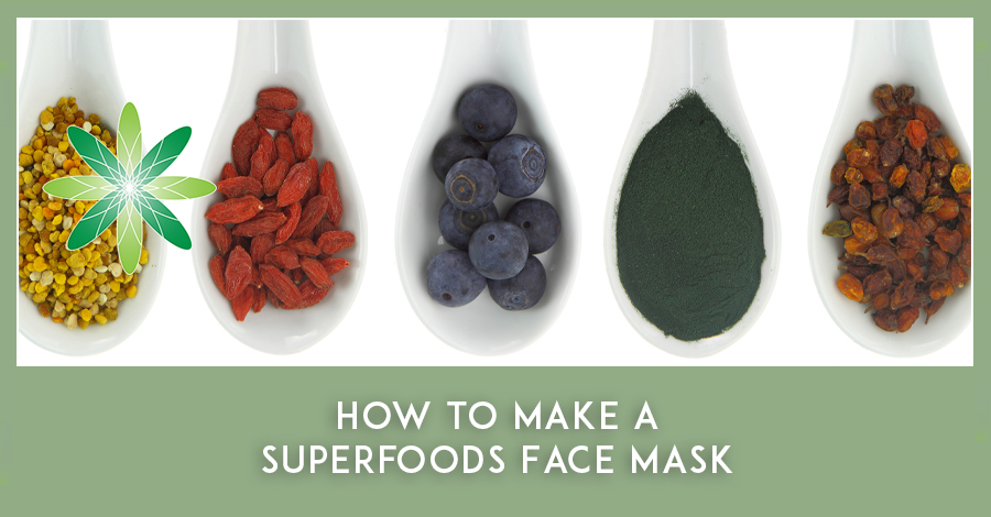 Superfoods face mask