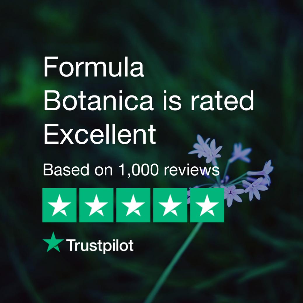 Formula Botanica on Trustpilot
