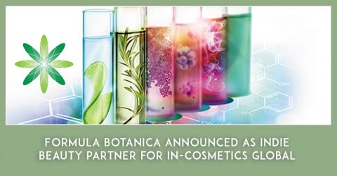 Formula Botanica announced as in-cosmetics Global indie beauty partner