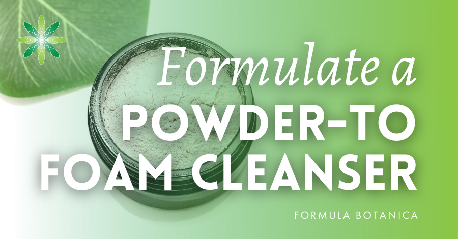 2020-02 Powder to foam cleanser