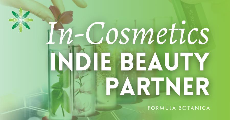 2020-02 In-Cosmetics indie beauty partner