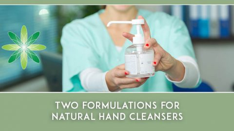 How to make Two Natural Hand Cleansers