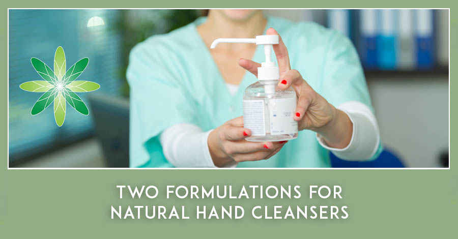 2020-03 Hand cleansers