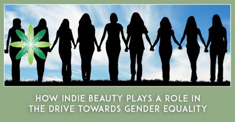 How indie beauty plays a role in the drive towards gender equality