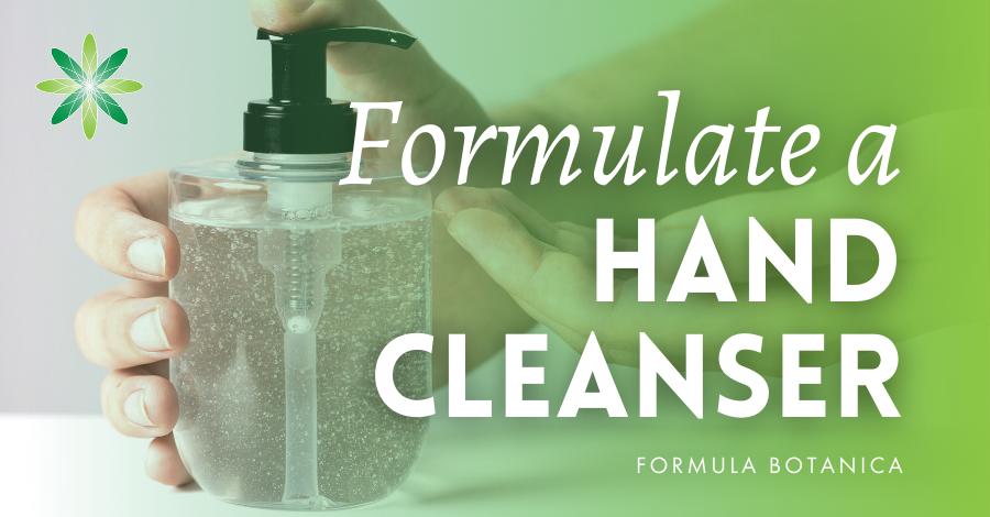 2020-03 Make a natural hand cleanser