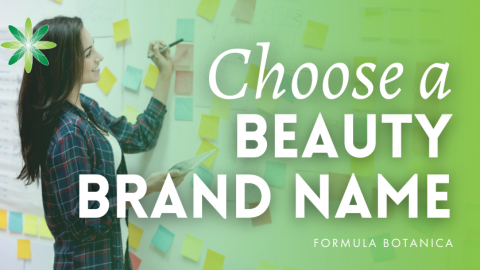 How to Choose a Name for your Beauty Brand