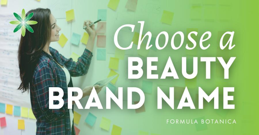 2020-03 choose a beauty brand name