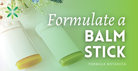 Why a balm stick should be the next skincare product you formulate