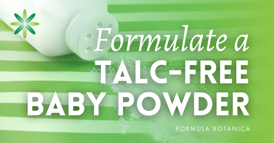 2020-07 Talc-free baby powder