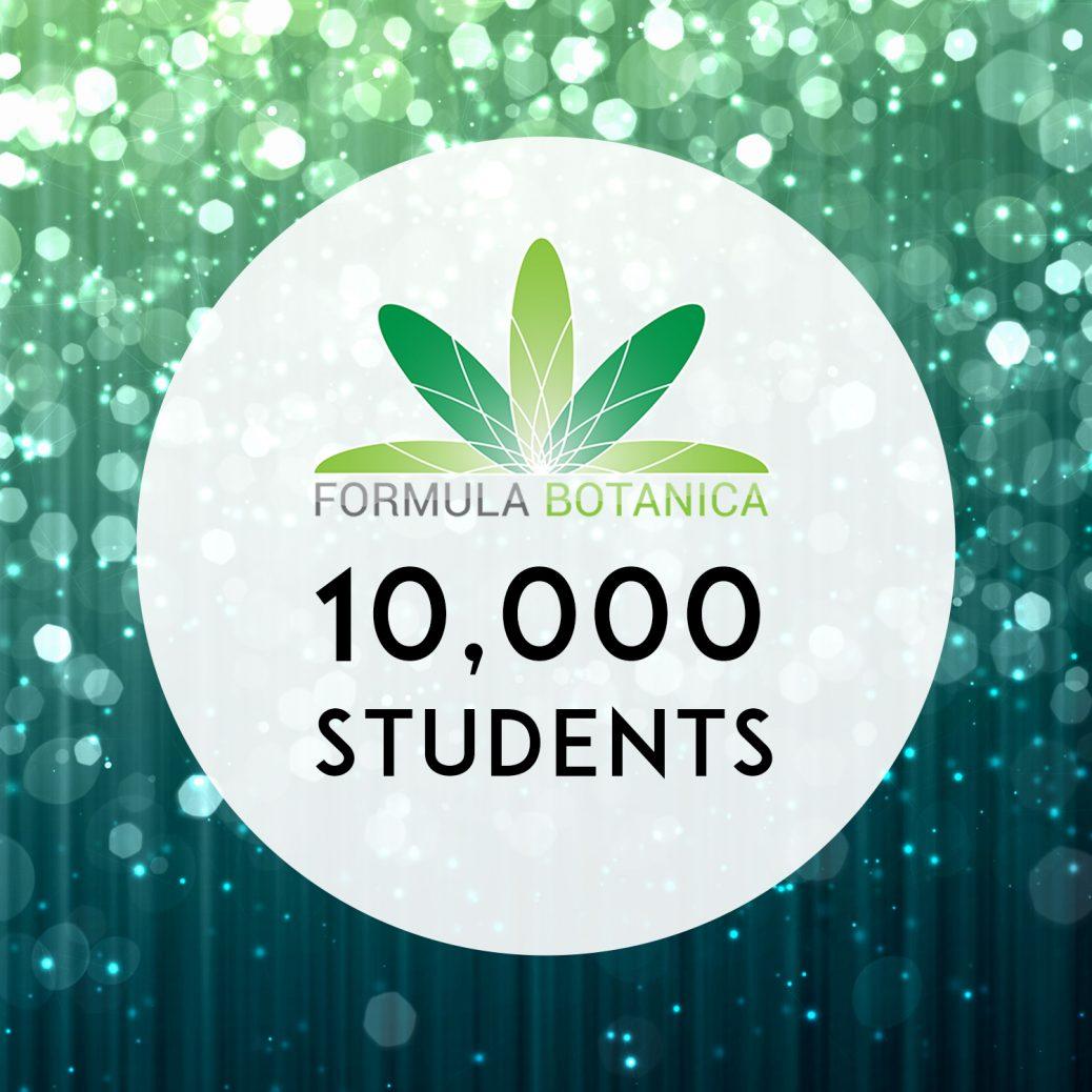 Formula Botanica enrols its 10,000th student