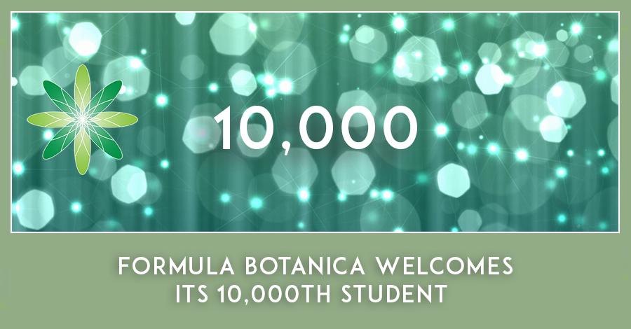 Formula Botanica 10,000 students