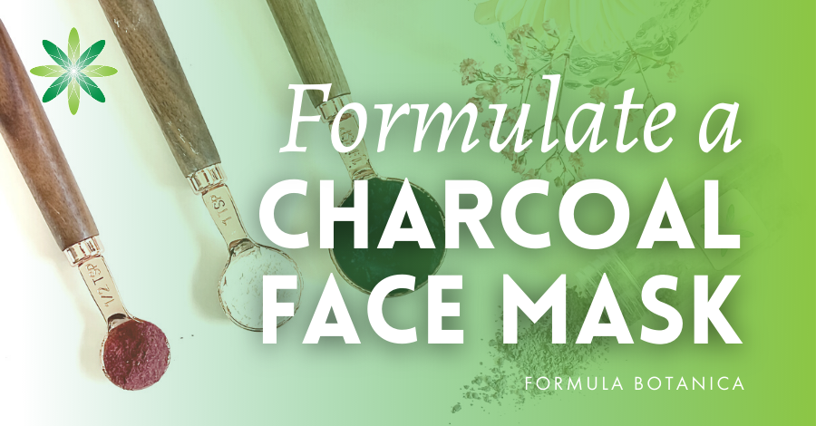 2020-08 Formulate a charcoal face mask