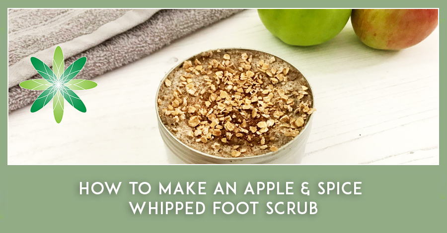 Foot Scrub natural skincare formulation