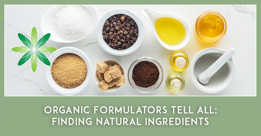 Natural Ingredients for cosmetic formulation