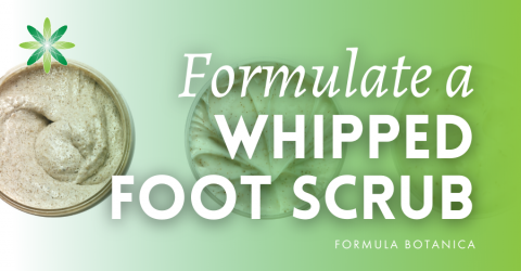 How to Make an Apple & Spice Whipped Foot Scrub