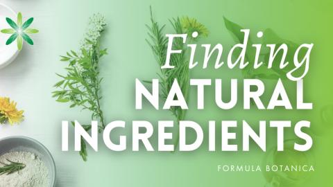Organic Formulators Tell All: Finding Natural Ingredients