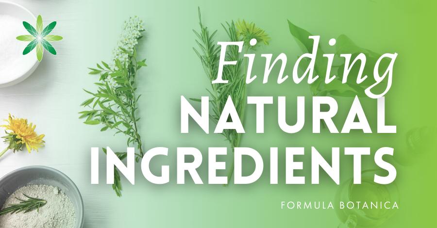 2020-09 Finding natural ingredients