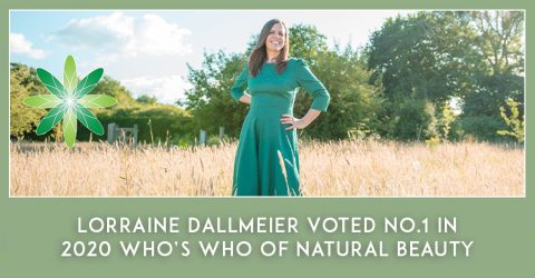 Lorraine Dallmeier Voted No.1 in Who's Who in Natural Beauty, 2020