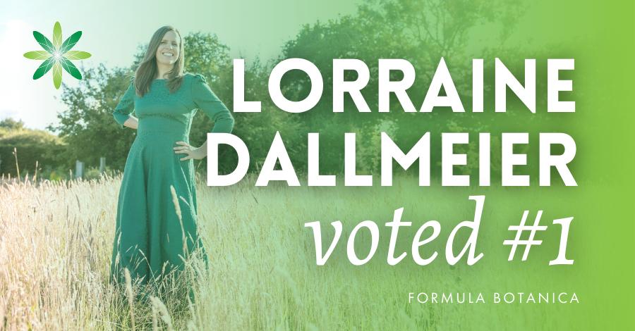 2020-10 Lorraine Dallmeier voted #1