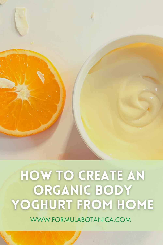 Natural body yoghurt