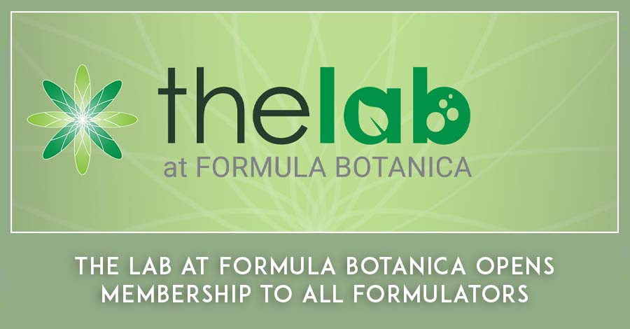 The Lab at Formula Botanica membership site