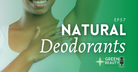 Podcast 57: Do Natural Deodorants Work?