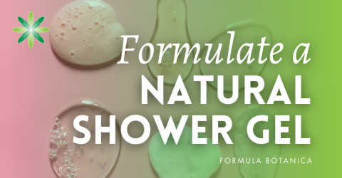 How to Make a Natural Shower Gel using Surfactants