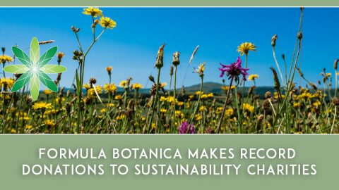 Formula Botanica makes record donations to sustainability charities