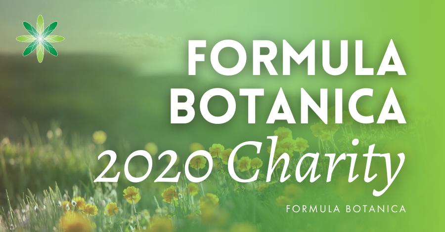 2020-12 Formula Botanica charity donations