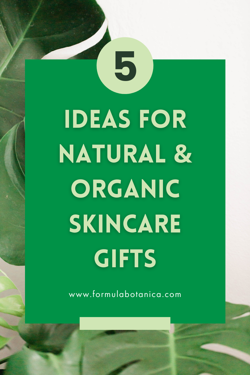 5 Ideas for Natural Organic Skincare Gifts