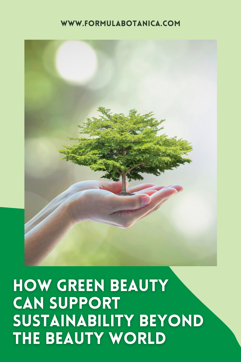How Green Beauty can support sustainability charities
