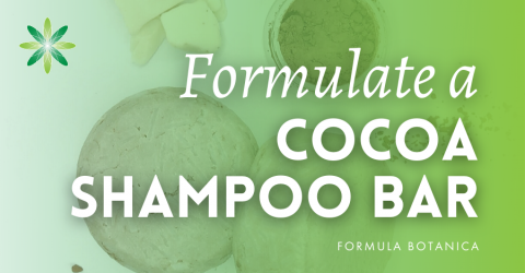 How to make a cocoa shampoo bar