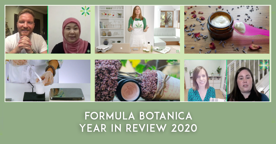 Formula Botanica Year in Review 2020