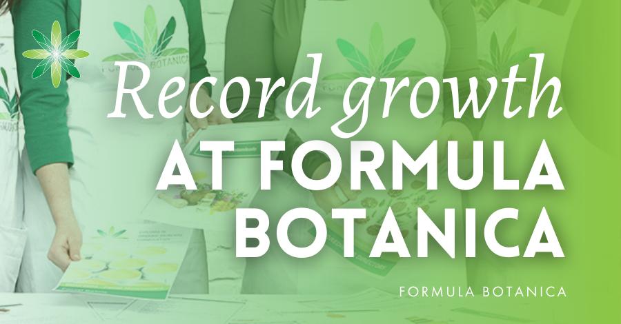 2021-02 Formula Botanica record growth