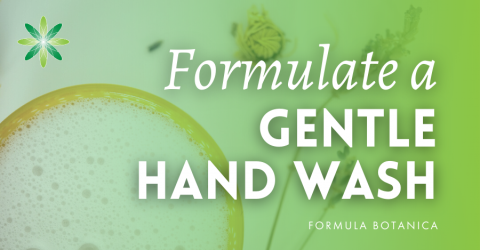 How to Make a Gentle Hand Wash