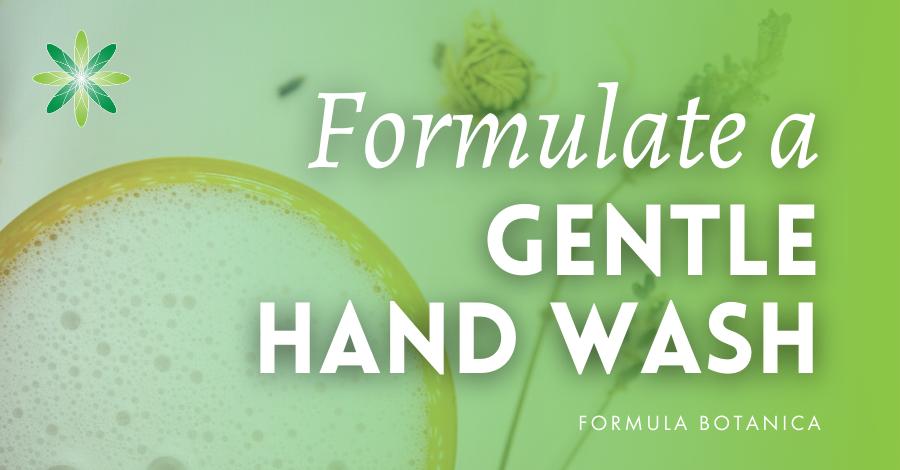 2021-02 Formulate Gentle hand wash